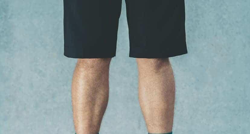 Mørke og flotte business shorts med et unikt maritimt design.