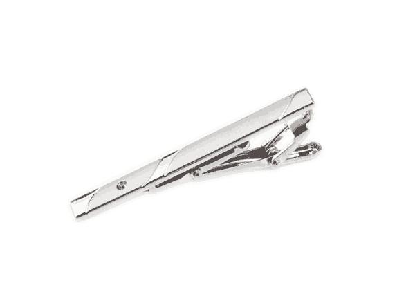 slipsenål i sølv med sten