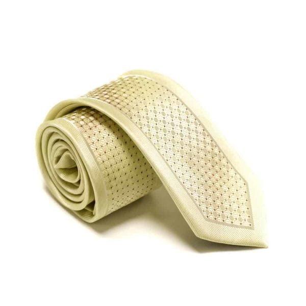 Beige Slips Med Silkekant Og Struktur I Midten3
