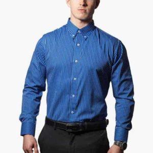 Blå-og-hvid-stribet-skjorte-001