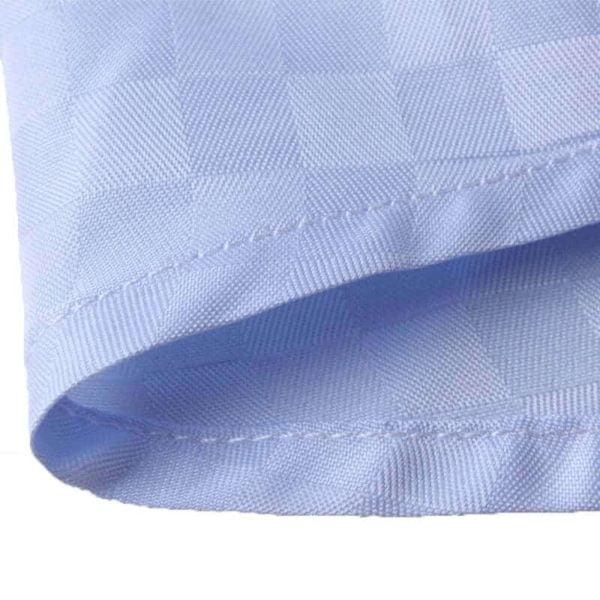 Blå skjorte med tern 2