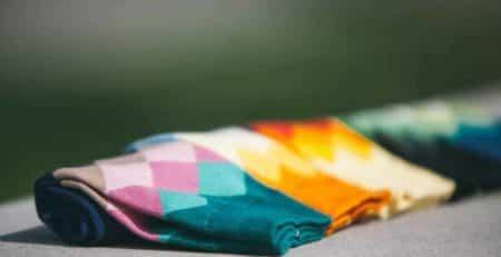farvefulde strømper x