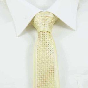 Gult ternet slips klassisk