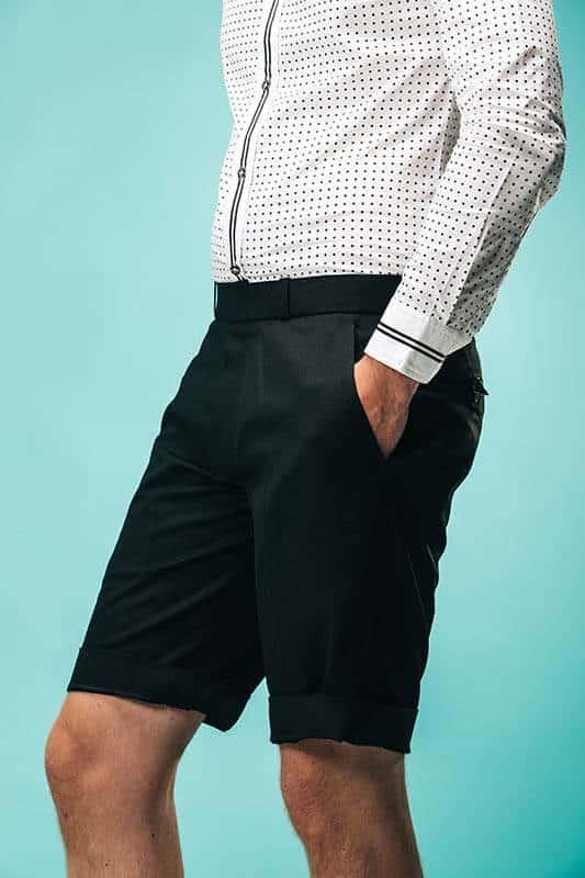 Hvid Skjorte Med Shorts 11