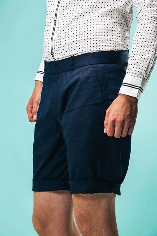 Hvid Skjorte Med Shorts 4