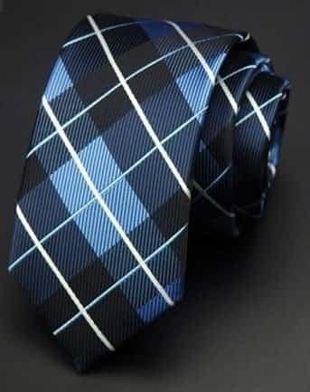 Klasisk slips flerfarvet