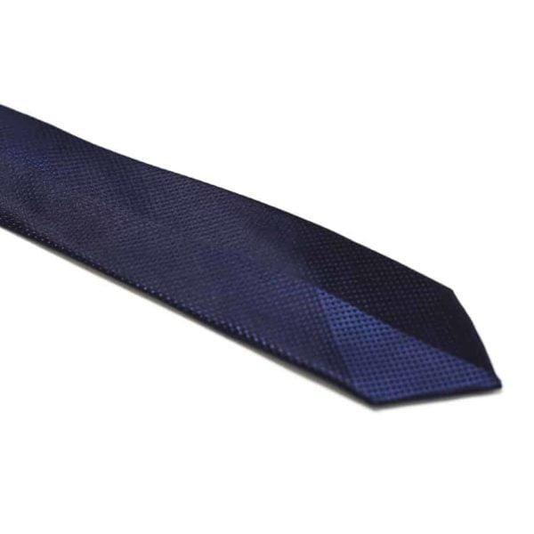 klassisk slips marineblå