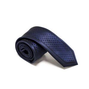 Klassisk-slips-blå-prikket-struktur3