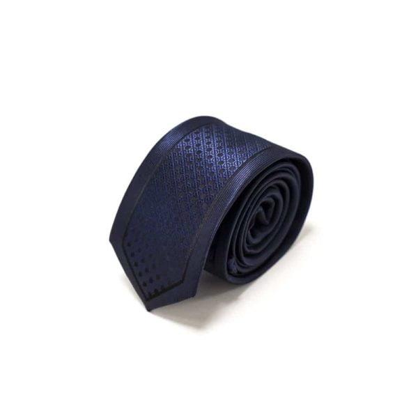 Klassisk-slips-blå-prikket-struktur4