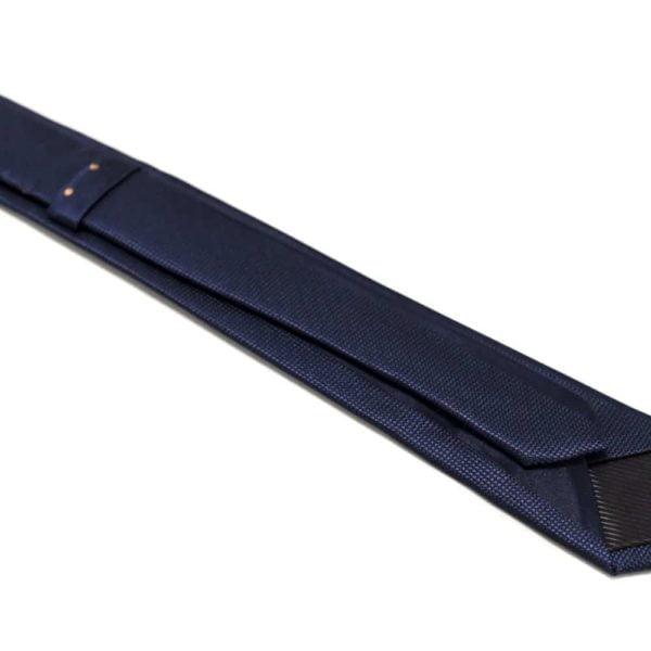 Marineblå-slips-med-bronze-prikker-langs-midten2