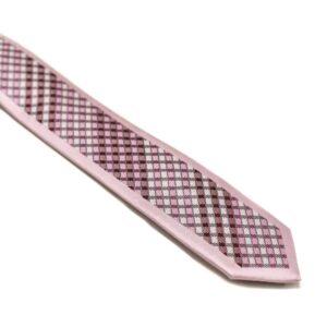 Moderne-lyserødt-skotsk-ternet-slips1