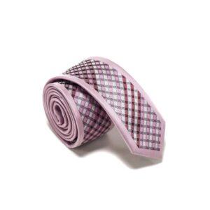 Moderne-lyserødt-skotsk-ternet-slips3