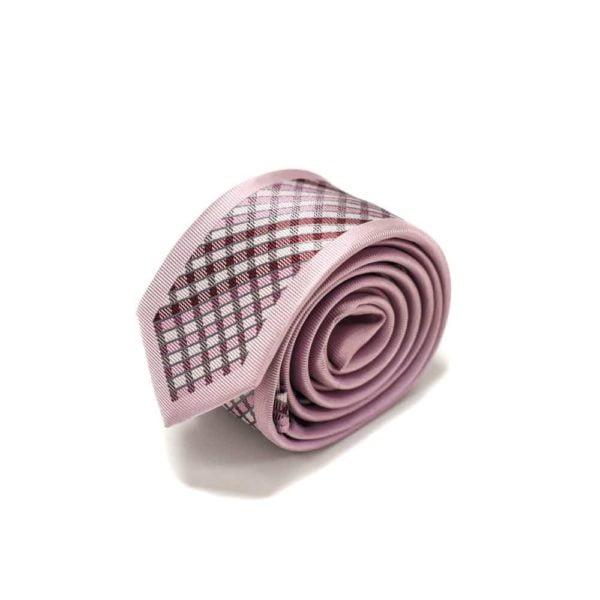 Moderne-lyserødt-skotsk-ternet-slips4