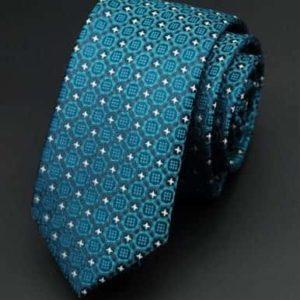 Moderne mønstret slips