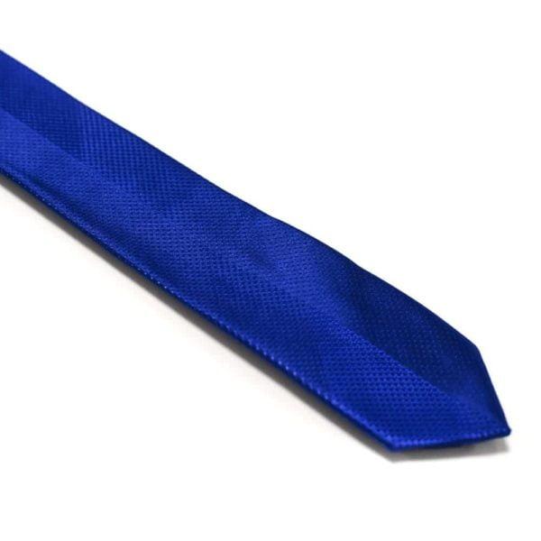 Moderne-royal-blå-slips-med-struktur1