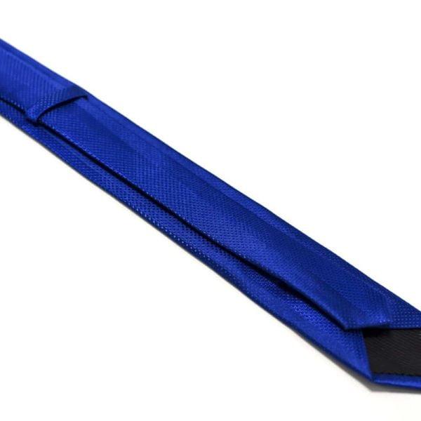 Moderne-royal-blå-slips-med-struktur2