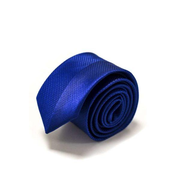 Moderne-royal-blå-slips-med-struktur4