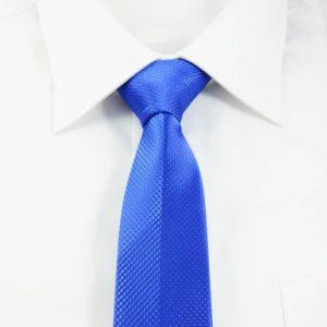 Moderne slips blåt