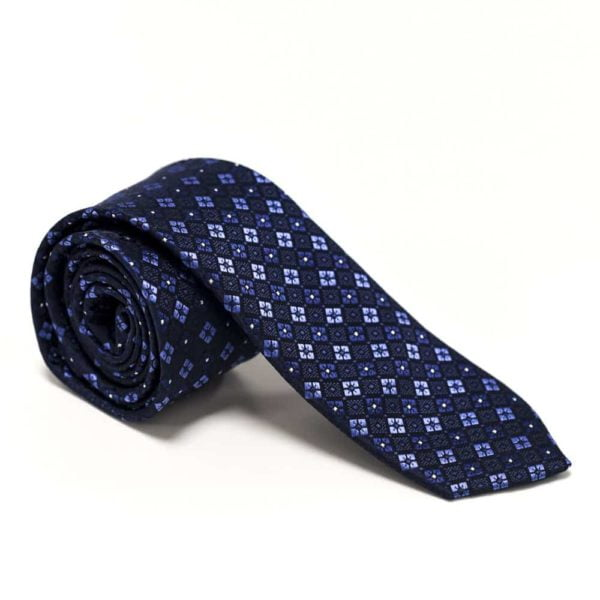 Moderne-slips-blåt-mønster3