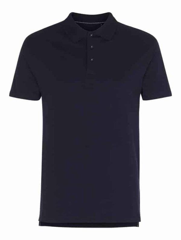 Navy Blå Poloshirt