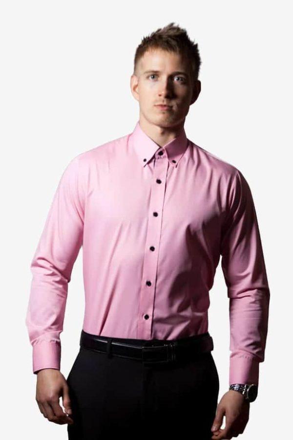 pink lyserød skjorte