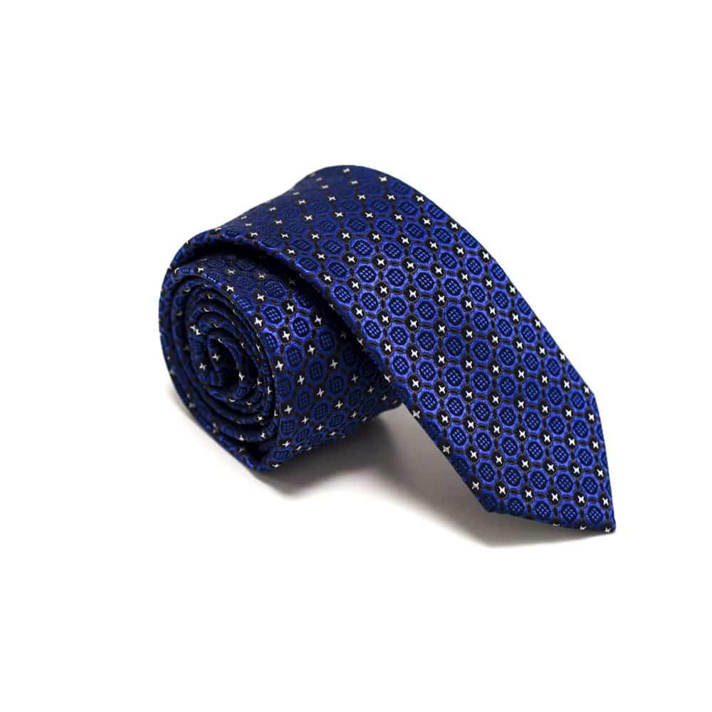 Moderne slips med mønster