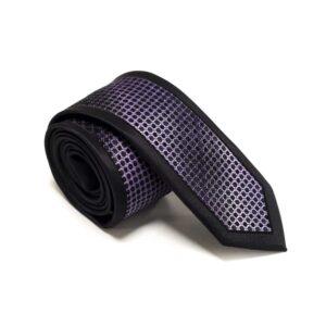 sort slips med lilla nuanceret struktur i midten