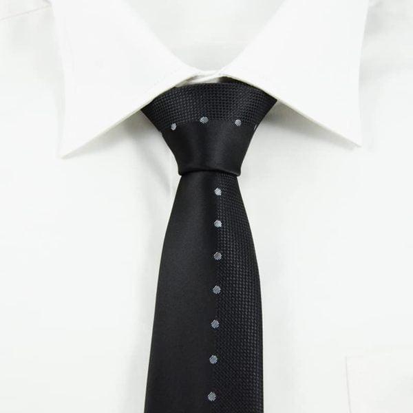 Sort slips sølvprikker