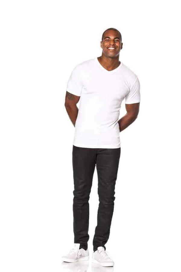 T-shirt-classic-v-neck