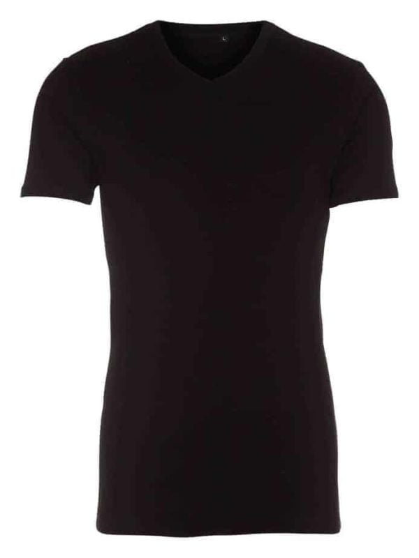 t shirt classic v neck sort