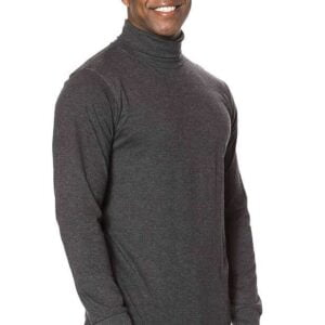 T Shirt Langærmet Turtle Neck Tee - Turtlenecks