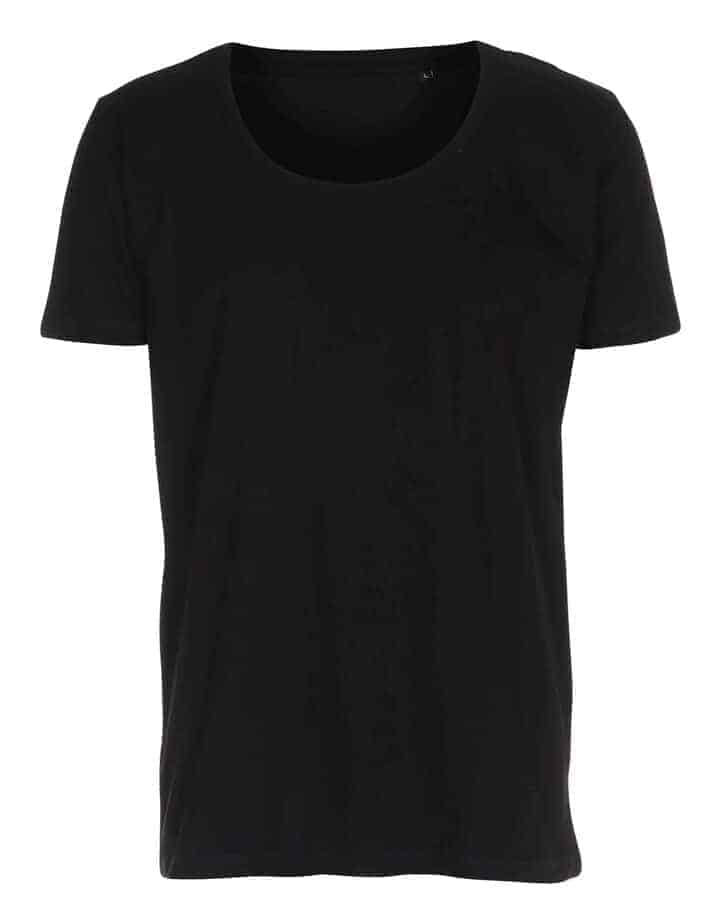 t shirt deep cut tee sort
