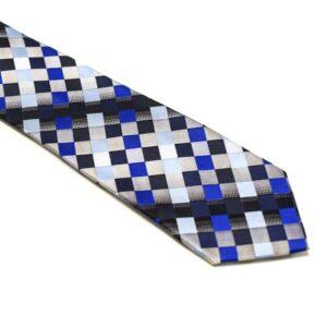 ternet slips med blå sølv grå lysblå mørkblå sort