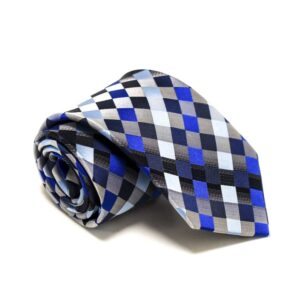 Ternet Slips Med Blå Sølv Grå Lysblå Mørkblå Sort3