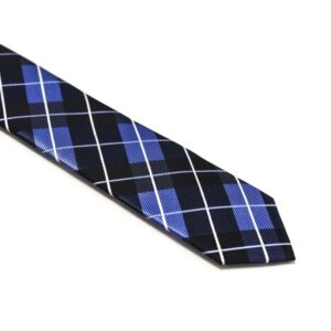 Ternet-sort-slips-med-blå-hvid-mønster1