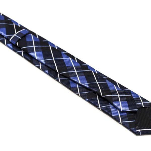 Ternet-sort-slips-med-blå-hvid-mønster2