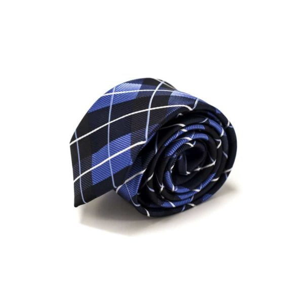 Ternet-sort-slips-med-blå-hvid-mønster4