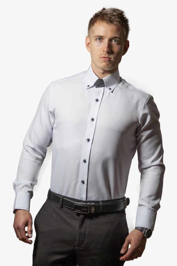 Unik Hvid Skjorte 001