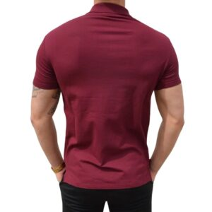 Xtreme Stretch Poloshirt Bordeaux (2)