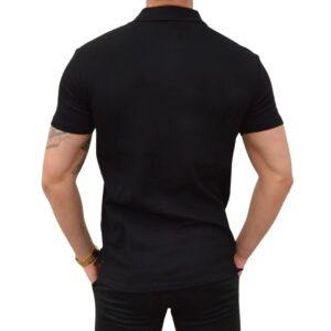 Xtreme Stretch Poloshirt Sort 1