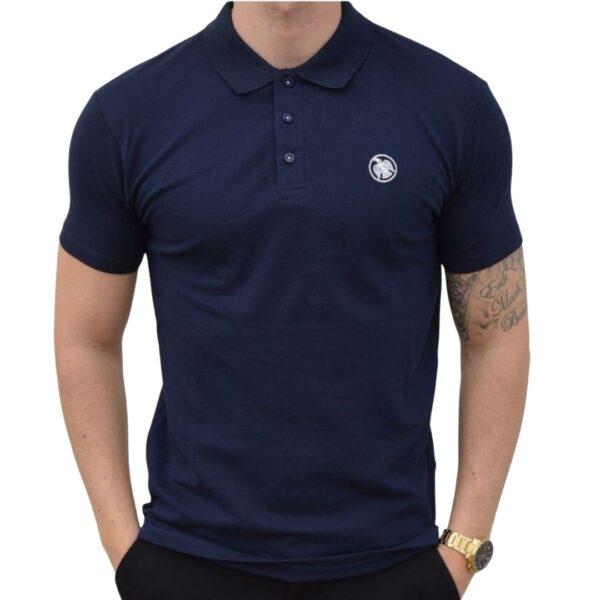 Xtreme stretch Poloshirt Navy-Blå