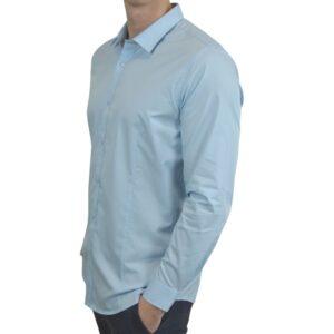 Blaa-smoking-skjorte-classic