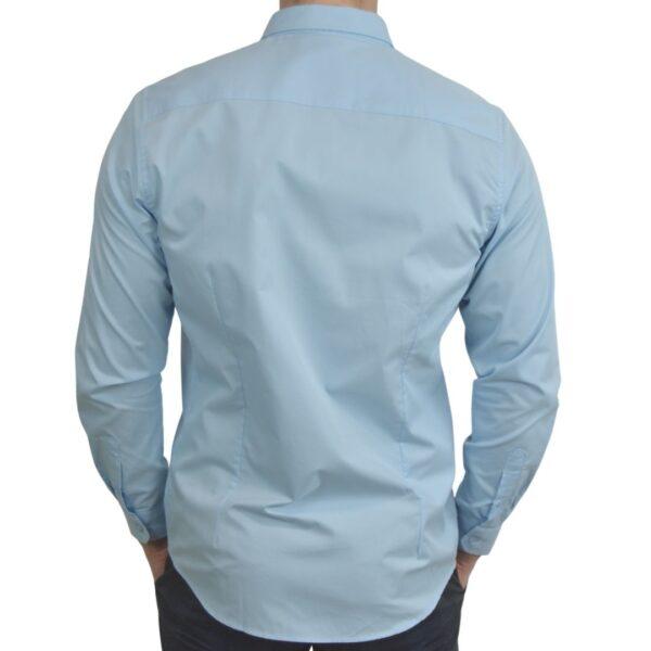 Blaa-smoking-skjorte-klassisk
