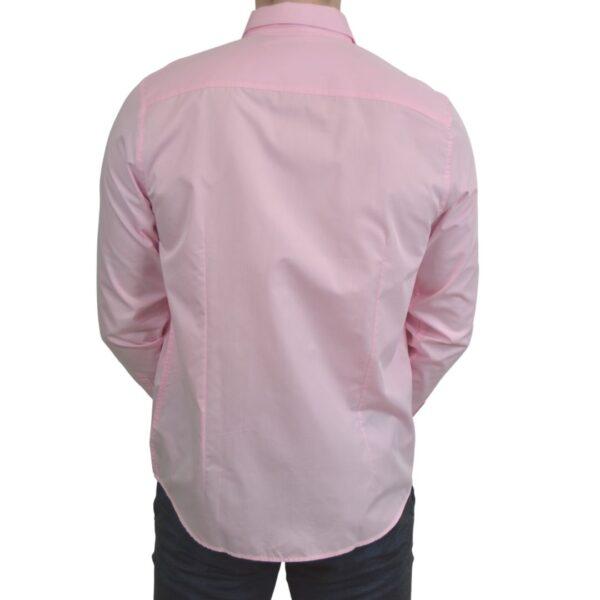 Lyseroed-smoking-skjorte-classic