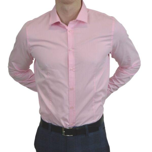 Lyseroed-smoking-skjorte-moderne