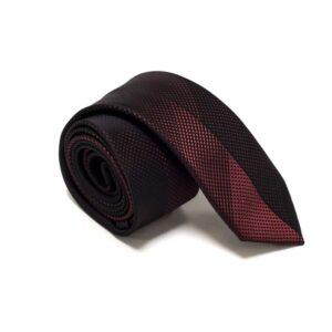moderne rødt nuanceret slips