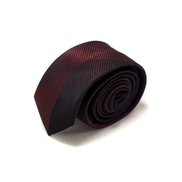 Moderne Rødt Nuanceret Slips4