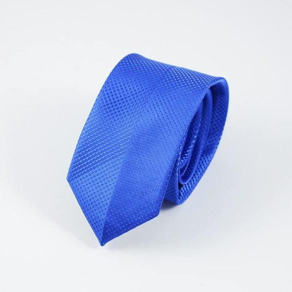 moderne slips blå