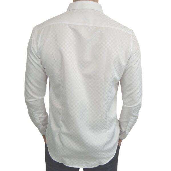 Signature-hvid-skjorte-med-tern-classic