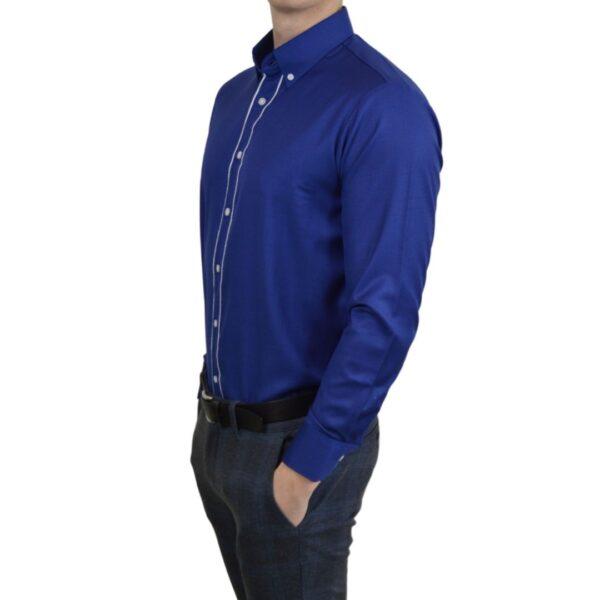 Tailormade-skjorte-blaa-classic